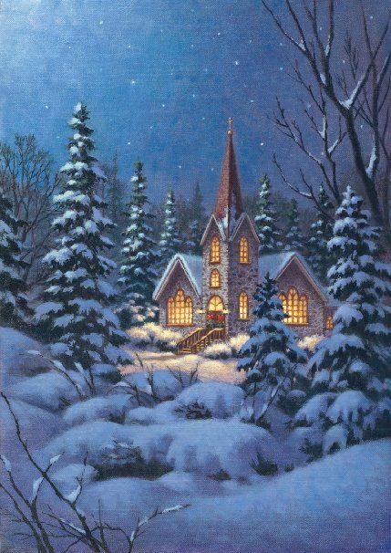 Toland Home Garden 119417 Snowy Steeple Garden Flag