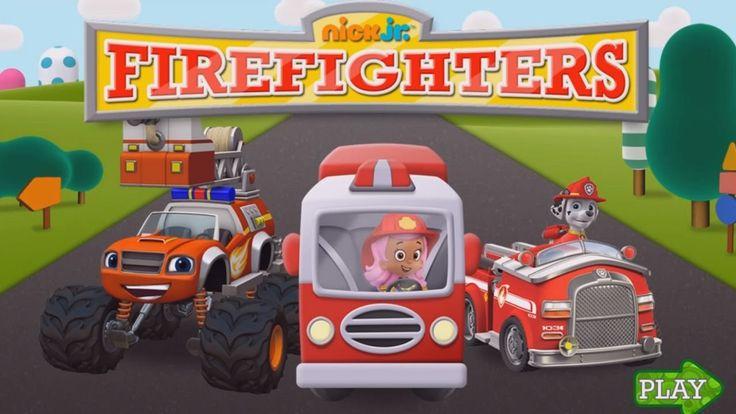 Nick Jr Games Preschool | Firefighters | Paw Patrol
