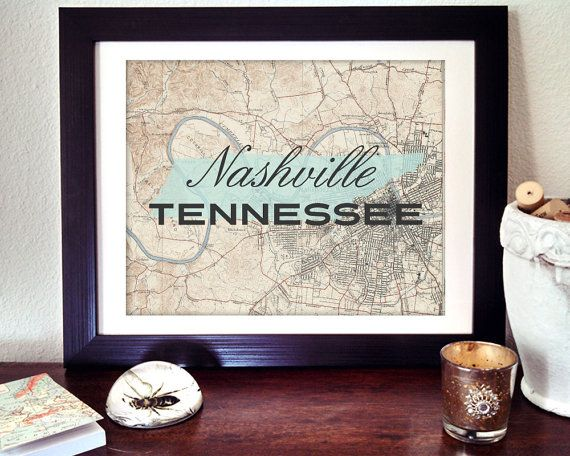 Hey, I found this really awesome Etsy listing at https://www.etsy.com/listing/158763216/nashville-print-tennessee-print