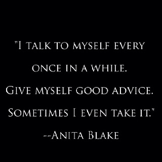 Anita Blake, Vampire Hunter...not bad for a fictional character.