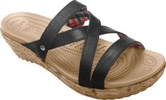 Womens Crocs Cobbler 2.0 Leather Clog - Mahogany/Black - FREE Shipping & Exchanges | Shoebuy.com