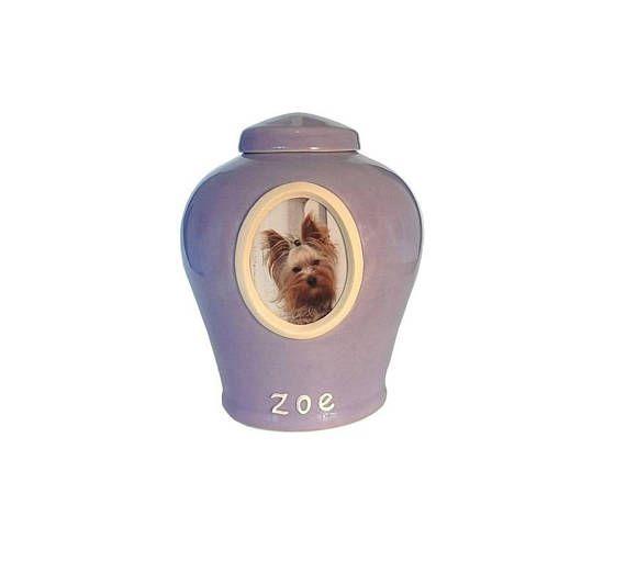 Small Photo Pet Urn/ Pet Urn / Pet Cremation Urns / Cat Urn/