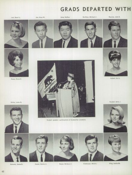 1965 Bakersfield High School Yearbook via Classmates.com