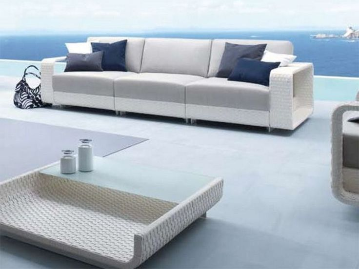 Modern Deck Furniture Inspiration For Your Fiberon Deck.  Http://www.fiberondecking