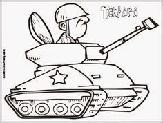 gambar mewarnai profesi tentara