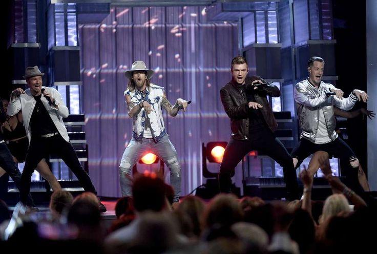 Backstreet Boys se robó el show en Premios ACM