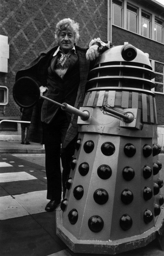 """The Third Doctor, aka the lead singer in a Tom Jones cover band. 
