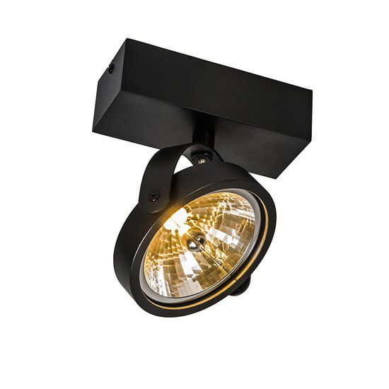QAZQA Go - Spot - 1 Lichts - Zwart opbouwspots?