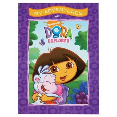 Personalised Dora the Explorer Adventure Book - The Personalised Gift Shop