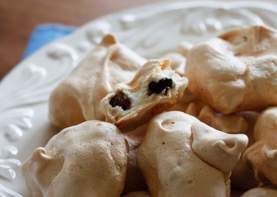 Black and White Chocolate Chip Clouds and Sweet News | Skinnytaste