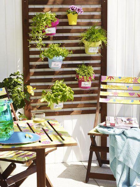 die 64 besten bilder zu balkon/garten auf pinterest | deko, kleine, Gartengerate ideen