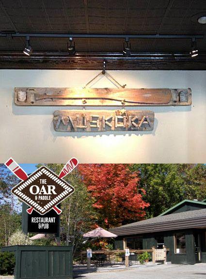 The Oar & Paddle (formerly North Restaurant) | GRAVENHURST: 530 Muskoka Rd. N. | Gourmet pub fare | MuskokaRegion.com