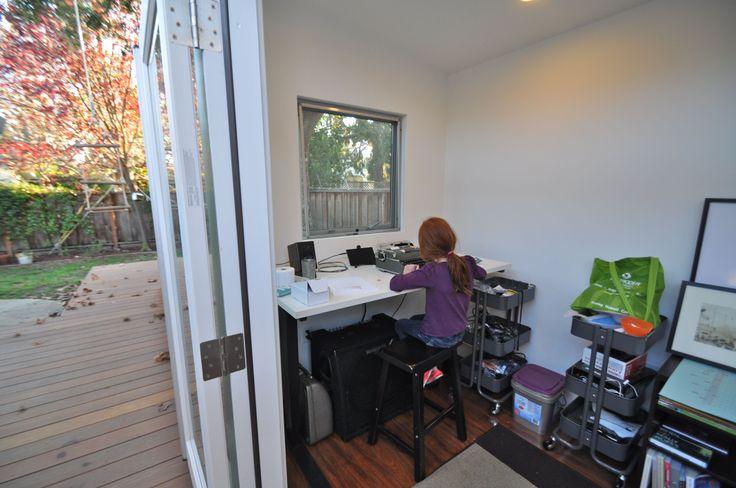Pin by studio shed modular modern prefab backyard for Garden shed music studio