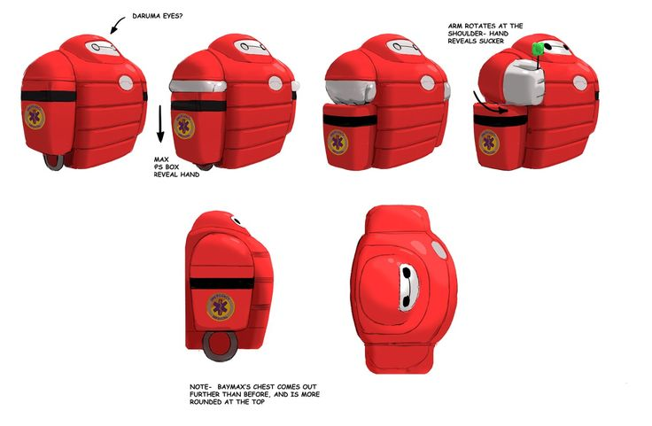 more details- it's the final Baymax container/recharger unit in its final form