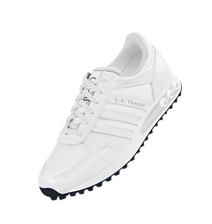 la trainer adidas white Shop Clothing