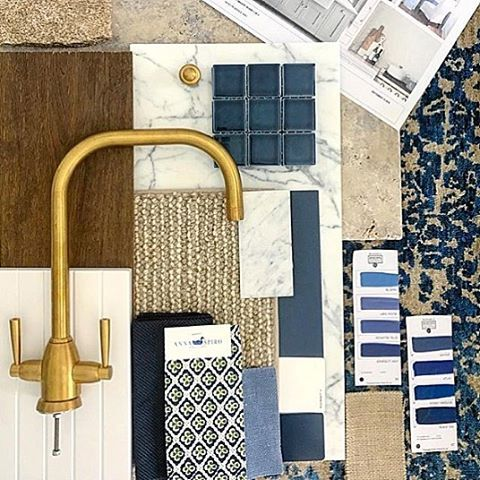 We loved seeing our Paniola Multi fabric included in this beautiful scheme for a new project by @mainehouseinteriors @katewalker_design.