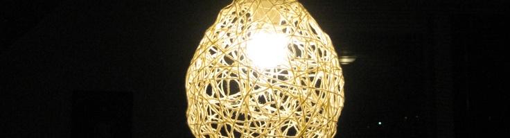 Færdig lampe