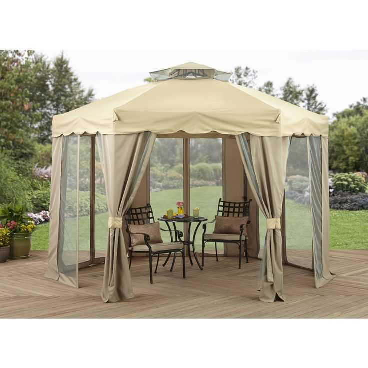 Better Homes and Gardens 12' x 12' Gilded Grove Gazebo >>> Read more  at the image link.