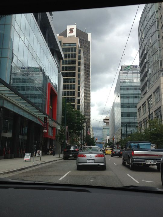 Downtown Vancouver in Vancouver, BC