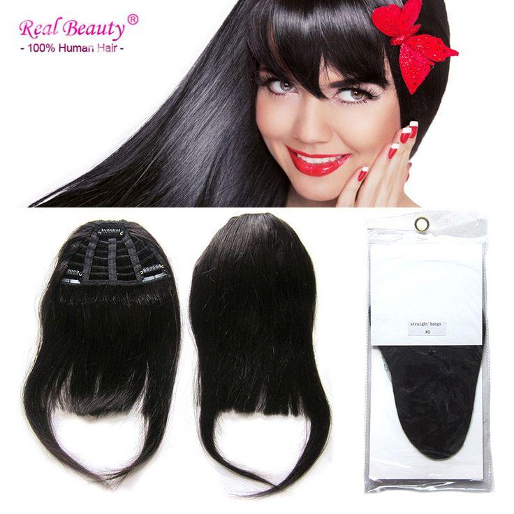 100% Human Hair Fringe Bangs 25g Clip In Flequillos de Pelo Natural Franja Cabelo Humano Bangs Human-Hair-fringes Cabelo Humano