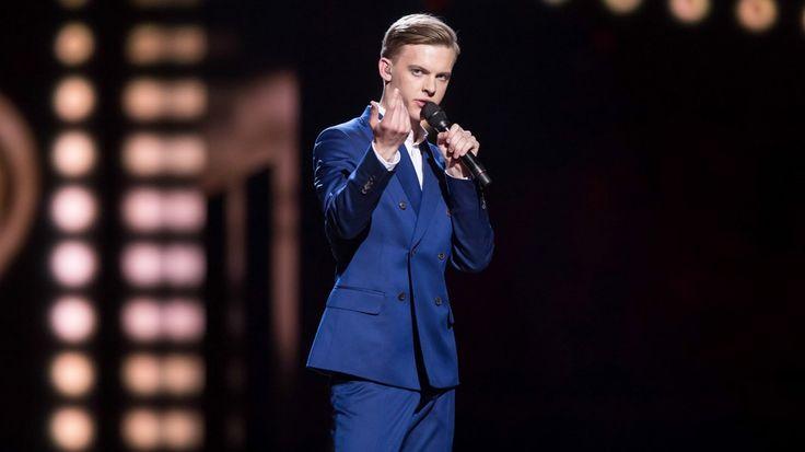 "First Semi-Final : Estonia - Jüri Pootsmann - ""Play"" - Not qualified for the final"