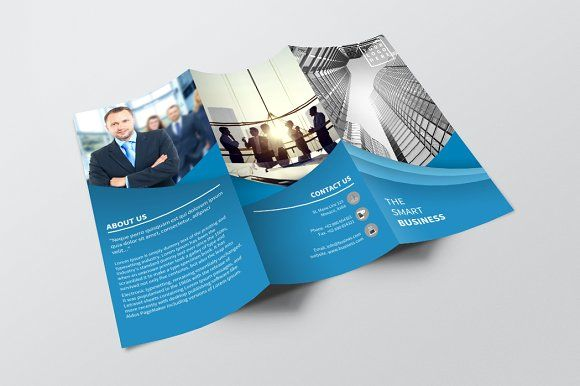 Trifold Corporate by BoriesBechker on @creativemarket