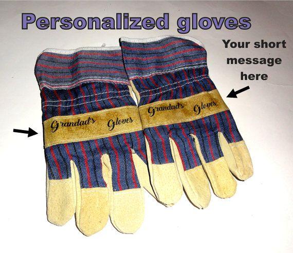 Protective gloves work gloves safety gloves. Custom by NayasArt