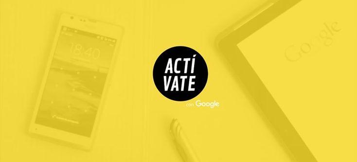 Actívate: Cursos en linea de Google gratis, con certificado incluido - http://webadictos.com/2015/10/22/activate-cursos-en-linea-de-google-gratis/?utm_source=PN&utm_medium=Pinterest&utm_campaign=PN%2Bposts