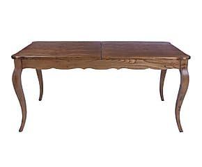 Tavolo rettangolare in legno di quercia Monteriggioni - max 77x95x200 cm