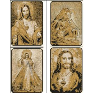 """""""King of Kings"""" +FREE Sample! Includes 16   designs total, featuring realistic looking, photo-style portraits of Jesus Christ. Many of your favorite New Testament stories are represented!"""