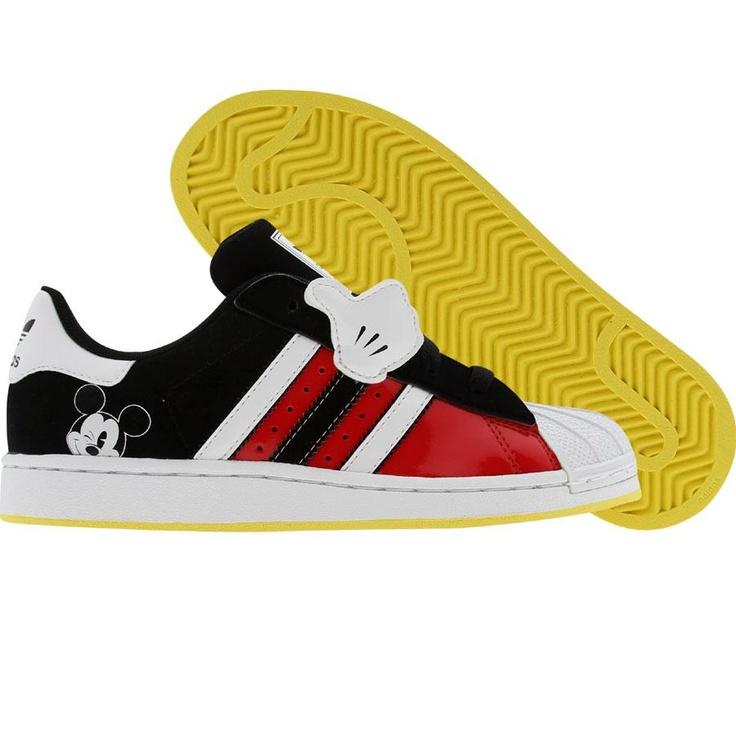 Adidas Superstar Mickey (college red / runninwhite / black1) G48958 - $59.99