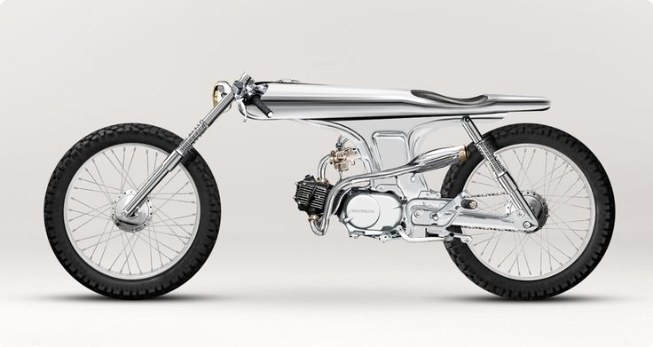 futuristic vintage. 1967 Honda SS.