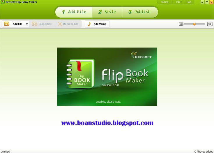 Ncesoft flip book maker 2.5
