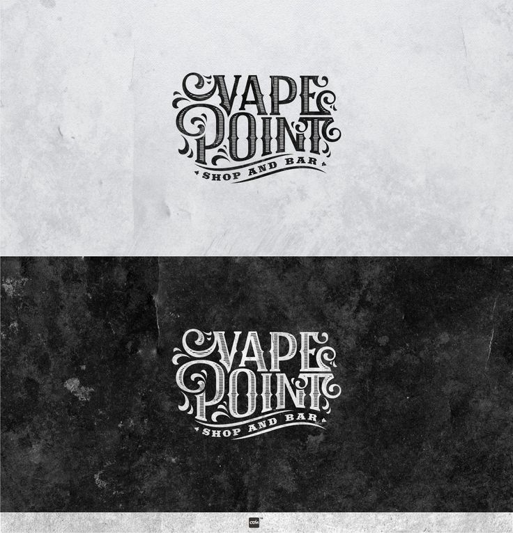 Logo design by coin! bor Vape Point. POTD 2.27.2015