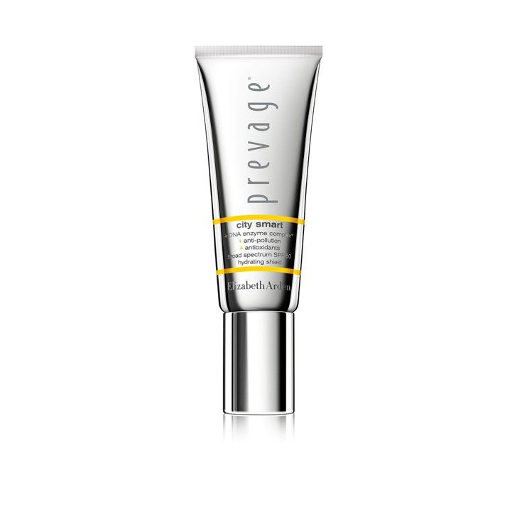 Pin for Later: 30 New Beauty Products You Need to Snap Up This Summer Elizabeth Arden Prevage City Smart Broad Spectrum SPF 50 Hydrating Shield