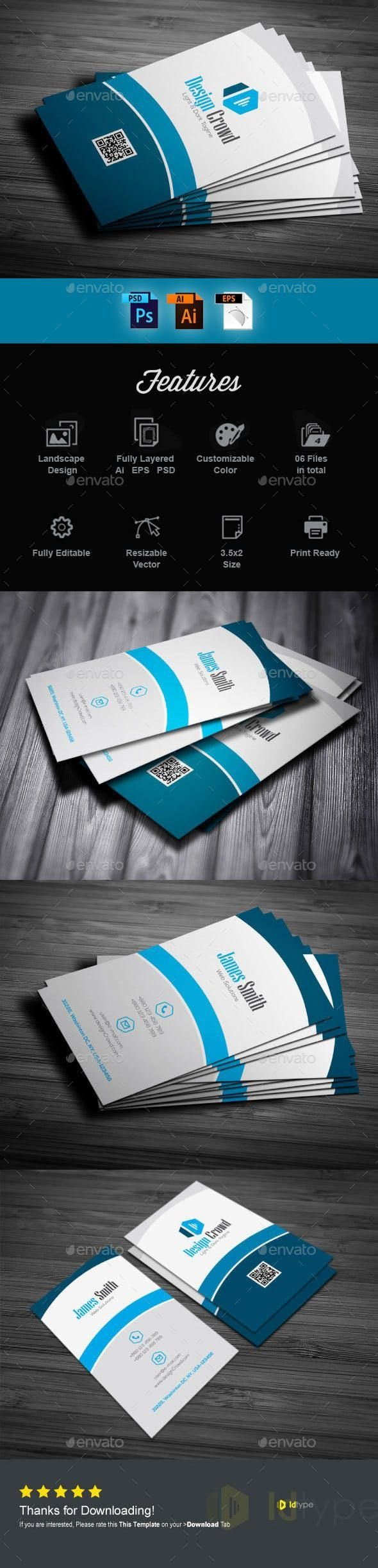 Business Card Carddesign Set Design Designcollections Businesscard Print Busi Business Card Template Design Cool Business Cards Business Card Minimalist