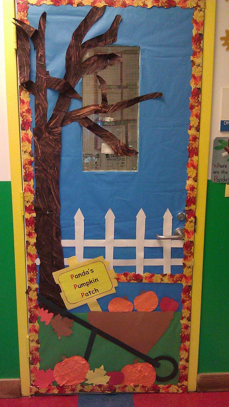 Fall Tree Classroom Door Decorations : Fall themed door decor my work pinterest doors