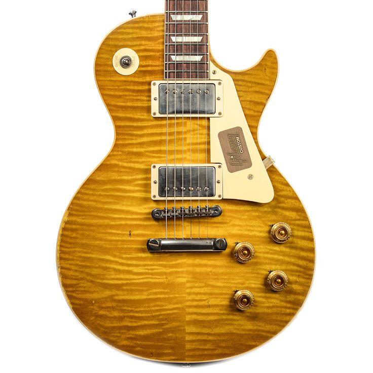 Gibson Custom Shop Historic Select 1960 Les Paul Reissue Lightly Aged Lemonburst (Serial #06219)