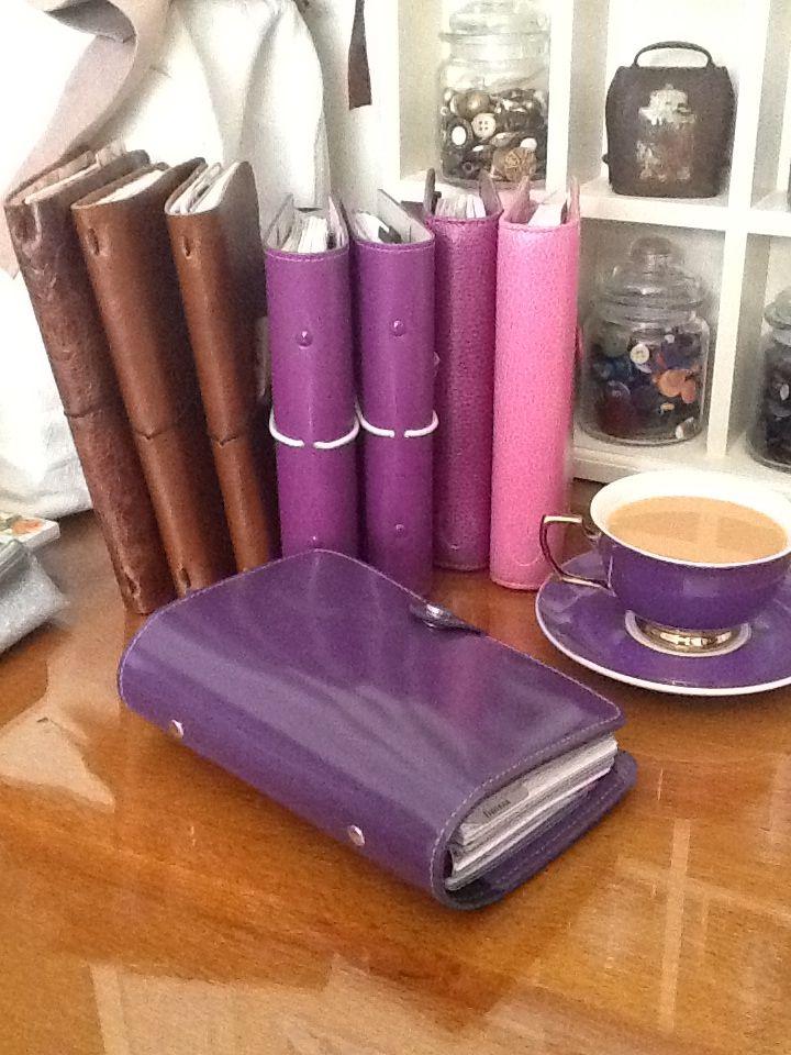 Filofax and Traveler's Notebooks.