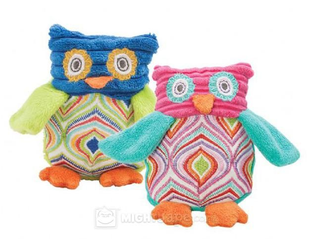 Lily & George Owl Rattle Set