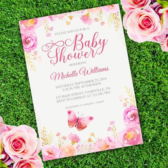 34 best baby shower invitations images on Pinterest Baby girl - baby shower program template