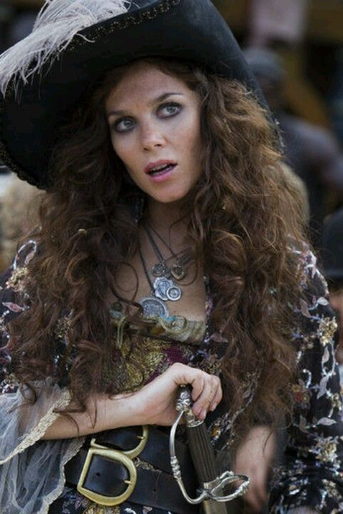 Its Anne Bonny the Female Pirate but not same actress as in Black Sails she is more onry looking (someone had this labeled as Elizabeth Bonny but the real person was Anne)