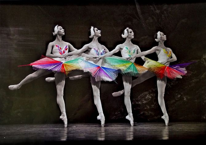 DANCE | Jose Romussi #mixed_media