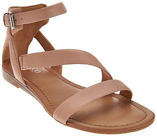 Franco Sarto Leather Multi-Strap Sandals - Gracia 2