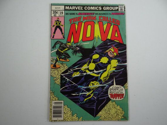 May 1978 Vintage Marvel Comics Nova No. 19   by SecondWindShop