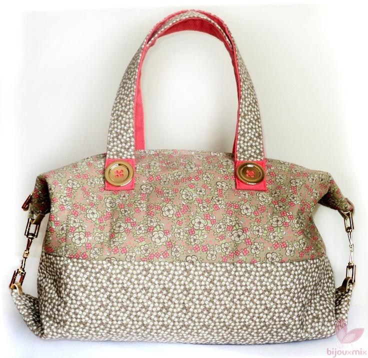 Bolsa de tecido floral Bijoux Mix