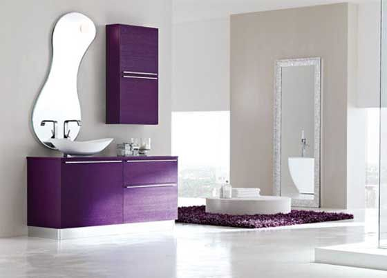 33 Cool Purple Bathroom Design Ideas | DigsDigs