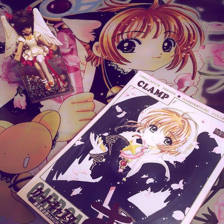 #cardcaptor #cardcaptorsakura #sakura #pink #mahoushoujo #magicalgirl #otaku #geek #animenerd #nerd #nerdgasm #iger #igeroftheday #clamp #artbook #manga #anime #instapink #instaotaku #instageek #blerd #instablerd #instaclamp #figurine #wallscroll