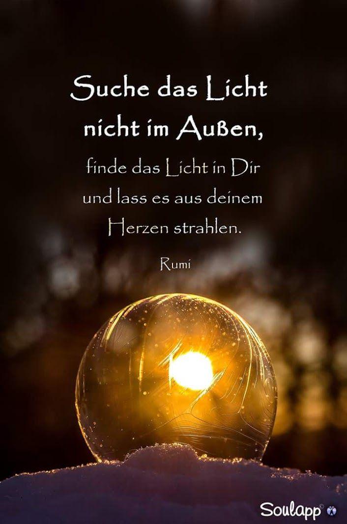 sprüche licht Das Licht in Dir! | Sprüche 《~》 | Quotes, Quotations, Rumi quotes sprüche licht