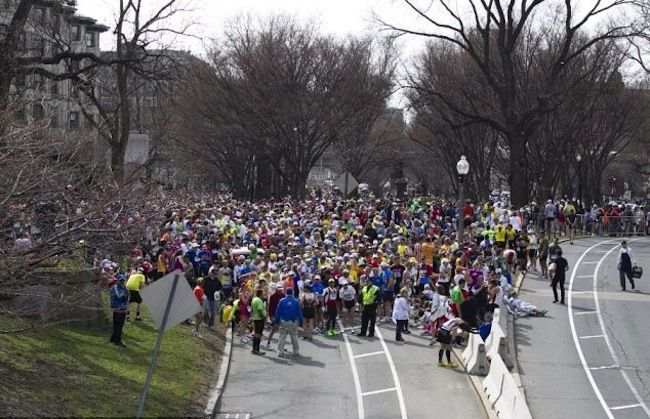 Wonderful and emotional article from a runner in the 2013 Boston Marathon. #prayersforboston
